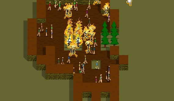 Chain of Fire Screenshot