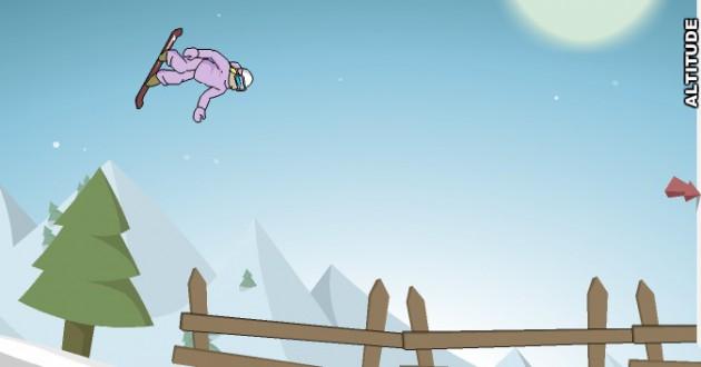 Downhill Snowboard 2 Screenshot