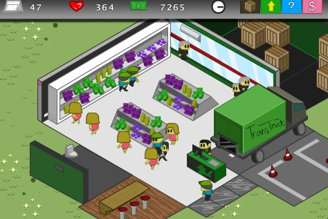 Mini Market Tycoon Screenshot