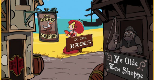 Pogoleg Pirates Screenshot