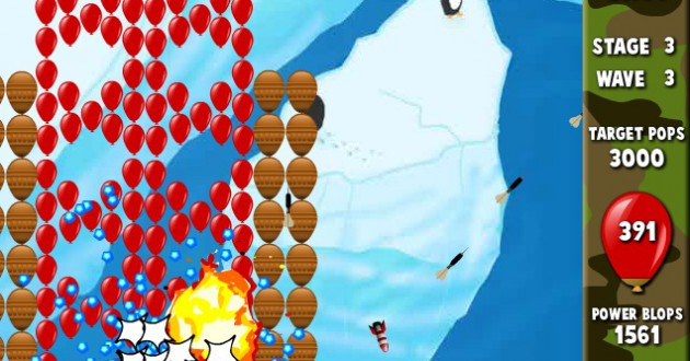 Bloons Supermonkey Screenshot