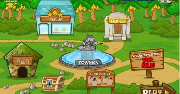 Tower Defense Bloons 5 Screenshot